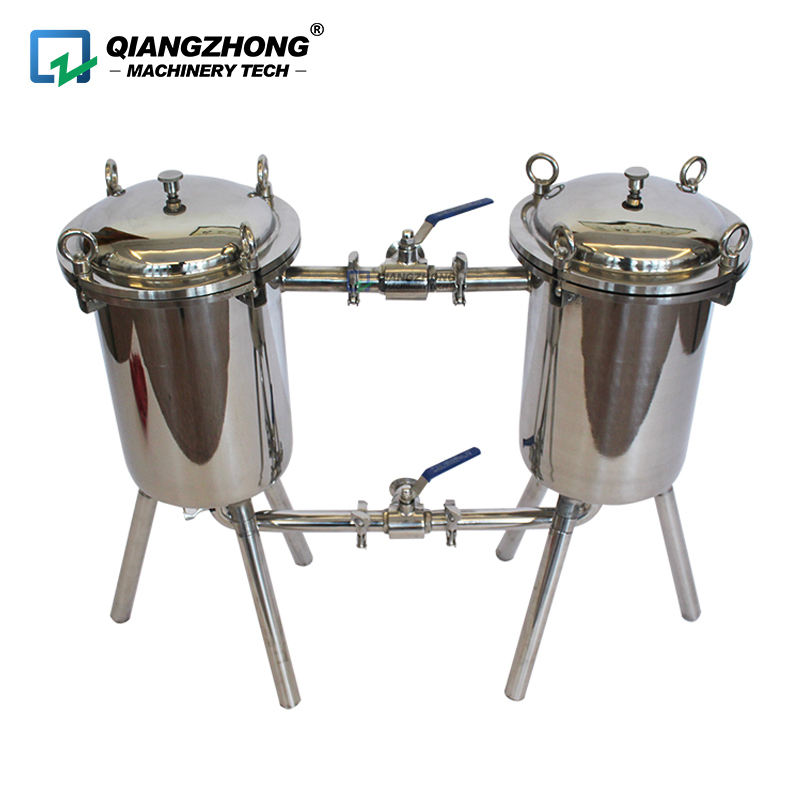 Stainless Steel Bag type Honey Filtering Machine Honey Double Filter