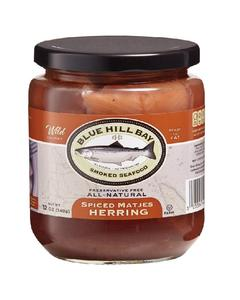 12 oz Blue Hill Bay's MSC Certified Herring with matjes spices