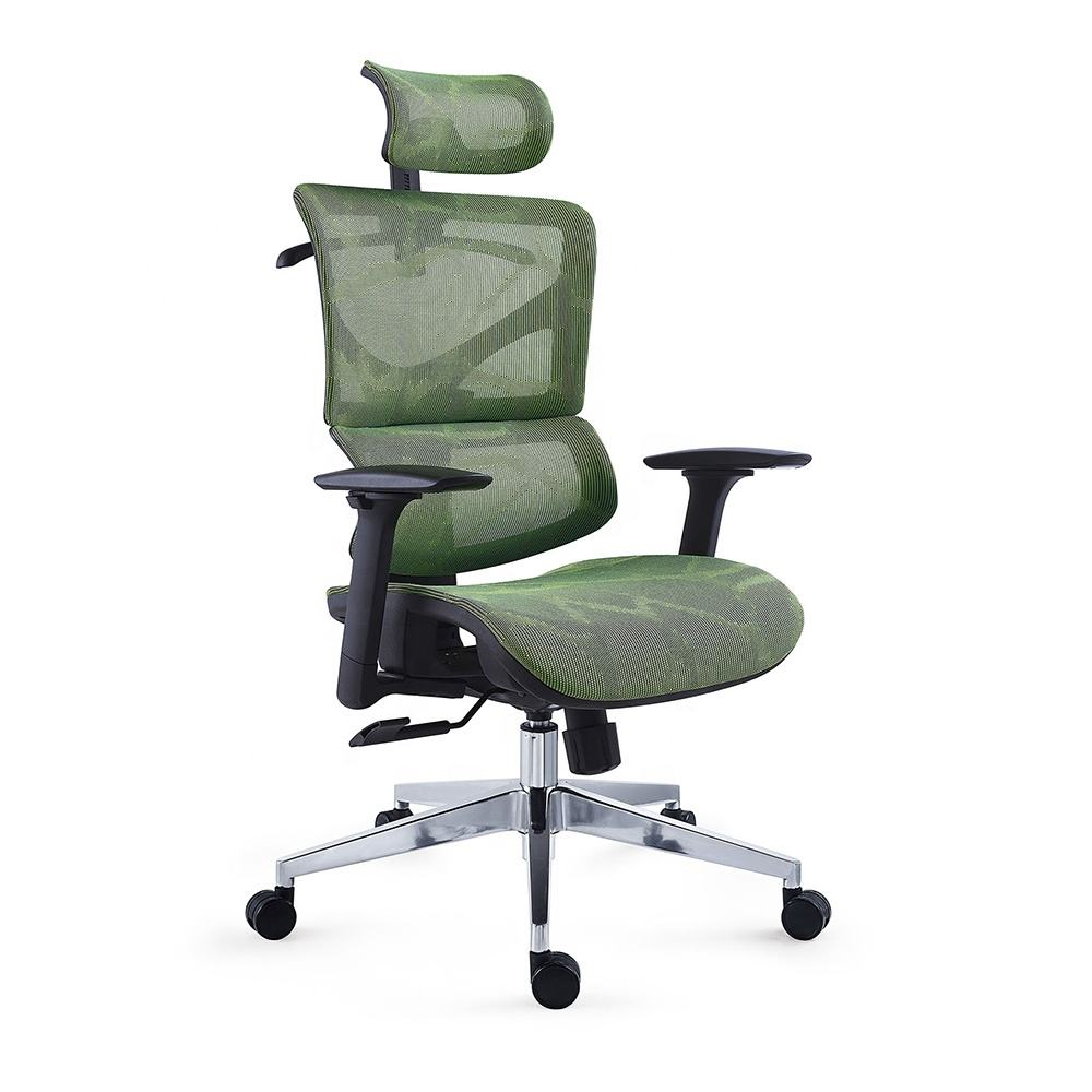 Luxury Revolving Swivel Lumbar Support Ergonomic Office furniture Boss Executive Chairs