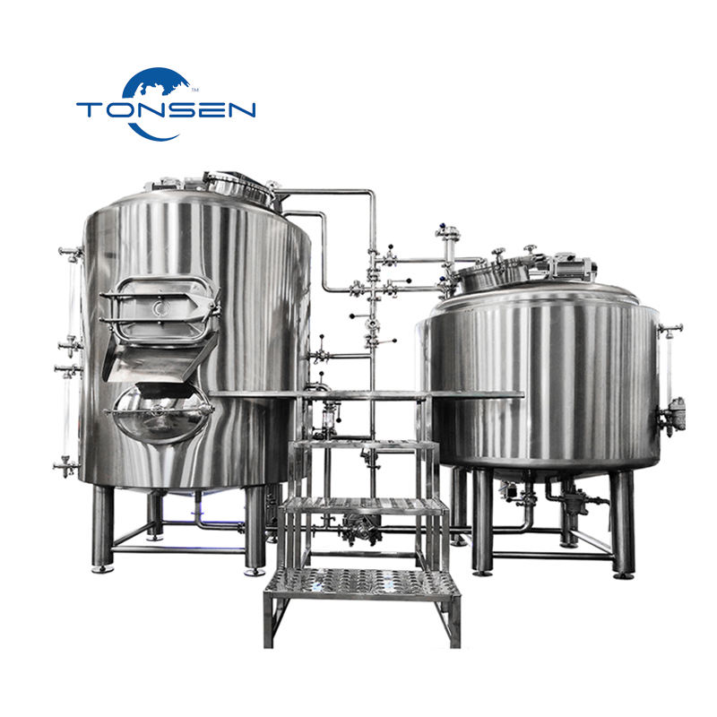 Tonsen Braumeister 30 Gallon 50 Gallon 100 Gallon Commercial Beer Brewing System Turnkey Project For Sale