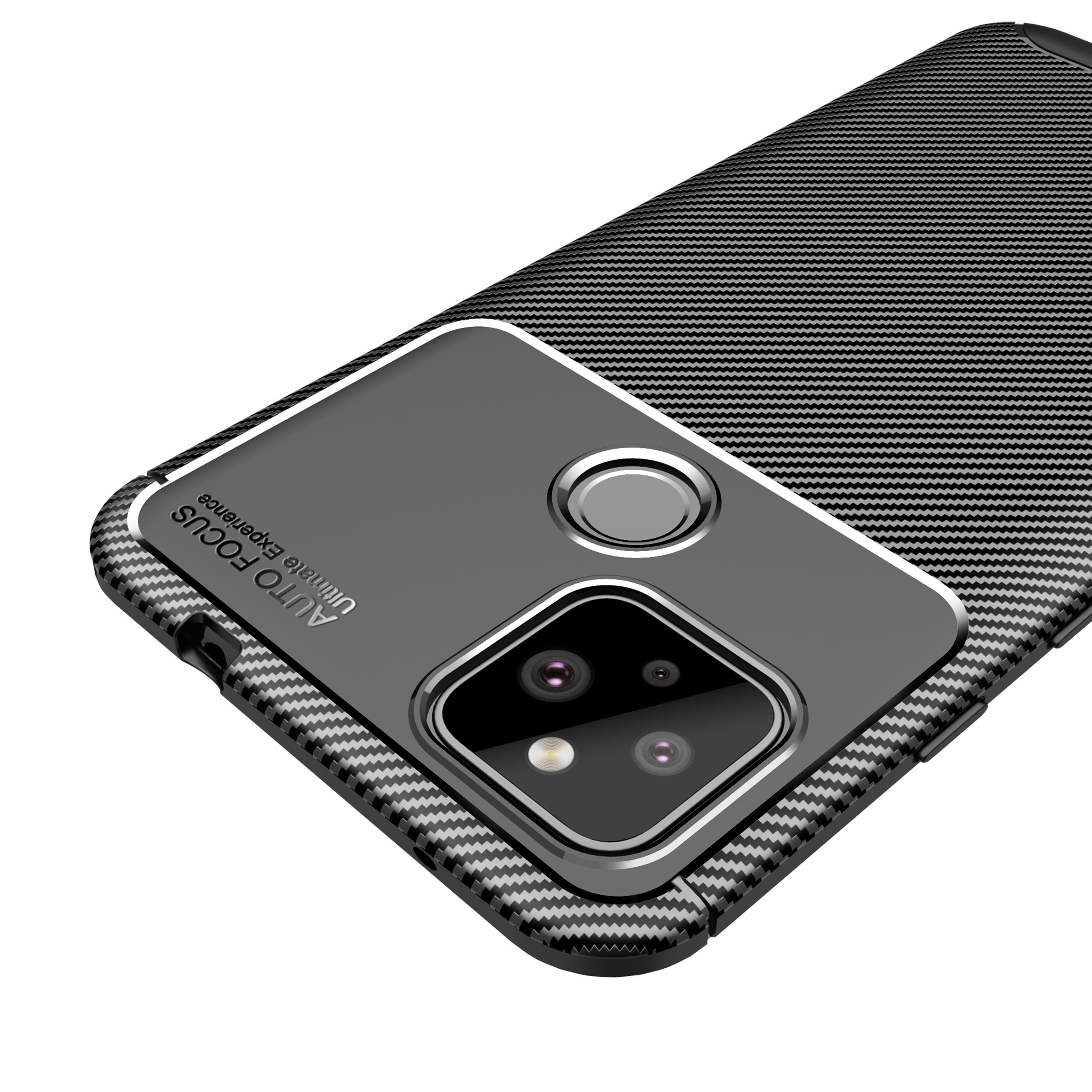 For Google Pixel 4 4XL 4A Case, Luxury Silicone Carbon Fiber Phone Case for Google Pixel 3A 3A XL 5 5XL Back Cover