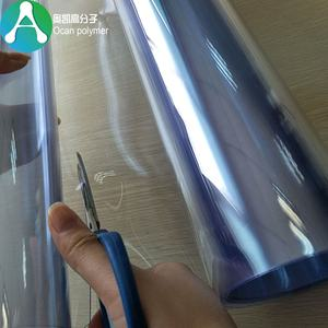 hotsale clear pvc roll film for packaging