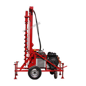 Hard rock drill man portable DTH drilling rig machine /portable auger drilling rig