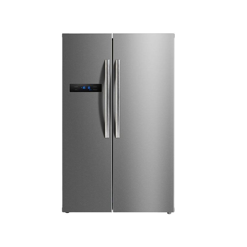No Frost French Door Refrigerator With Ice Maker Frost Free Fridge Freezer Side By Side Luxury Refrigerator