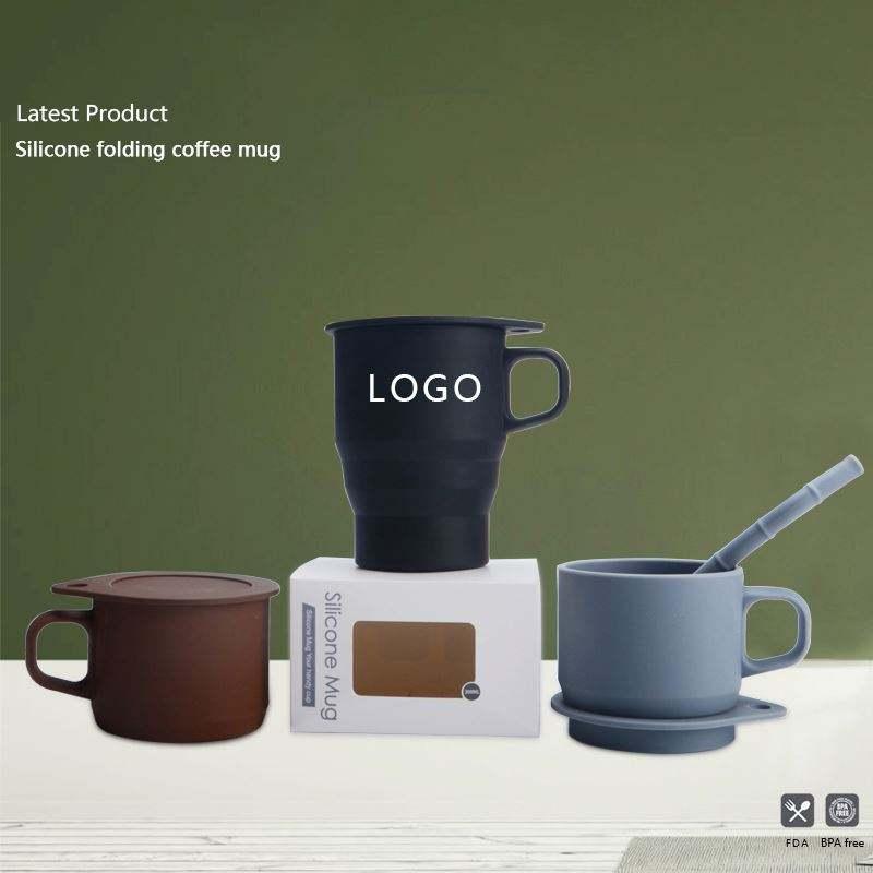 Viajes francés prensa taza de café con filtro ad de silicona taza de café de acero inoxidable émbolo libre de BPA