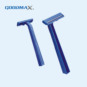 Wholesale Shaving Blue Safety Skin Disposable Twin Blade Razor For Men