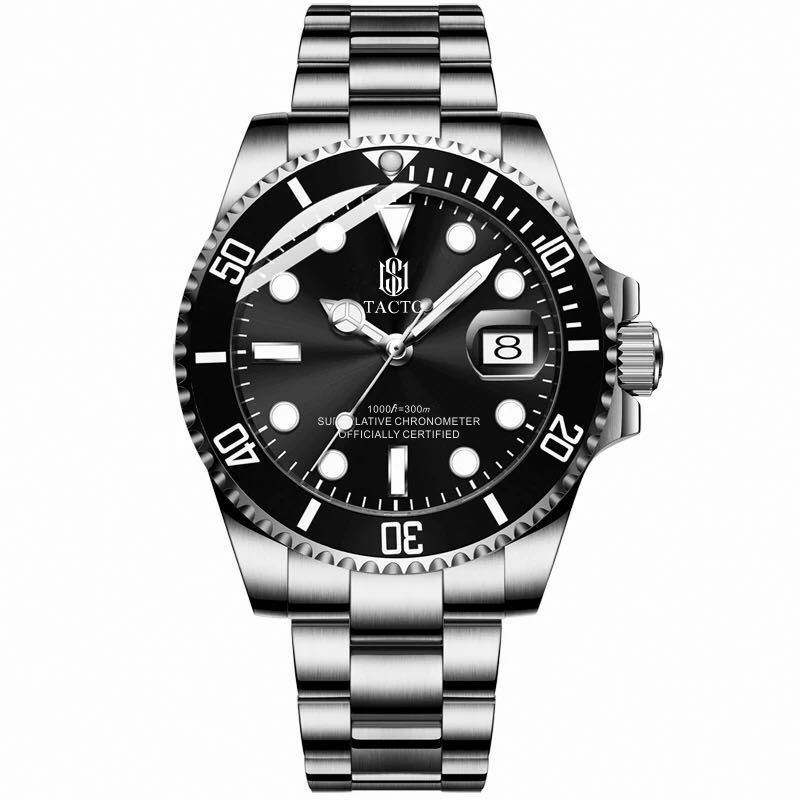 Ship In 5 Days stainless steel automatic diver watch sport man watch and stainless steel and automatic