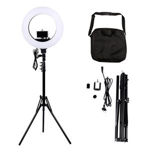 factory supply 18 inch Universal Circle Selfie LED Ring Light For Mobile Cell Phone photography