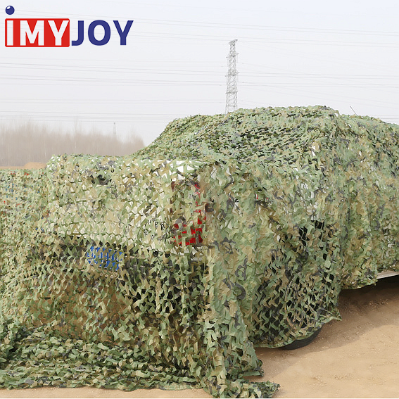 Camping Military Hunting Shooting Blind Watching Double layer Woodland Camouflage Netting Desert Camo Net