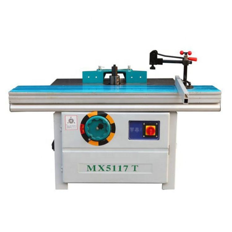 MX5117T high quality sliding table wood milling machine spindle moulder