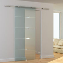ghost glass sliding door system