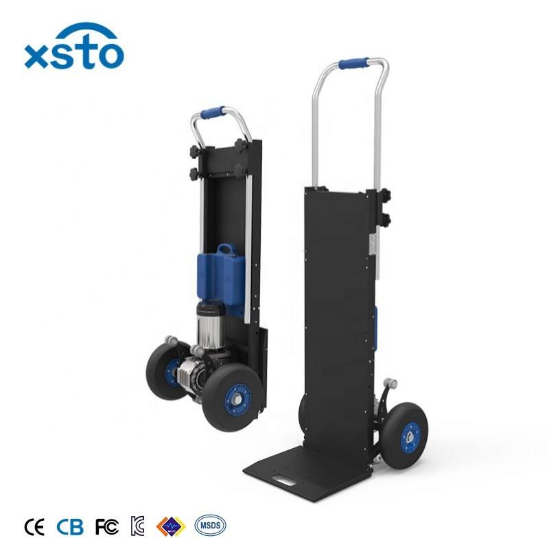 XSTO 250KG Lithium battery powered steel stair dollys climbing electric trolleys