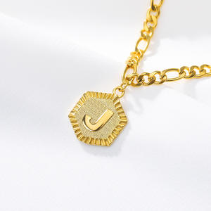 New Design Gold Color Fashion Foot Jewelry Initial Bracelet Stainless Steel Letter Anklet for Girl Women