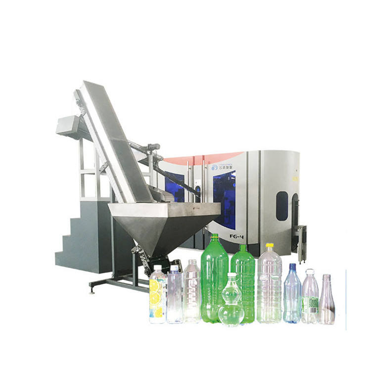 Fully automatic customized small supplier plastic pet preform water bottle manufacturing blowing making machine price