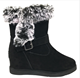 Hot-seling Cow Suede And hidden heel winter snow boots genuine leather