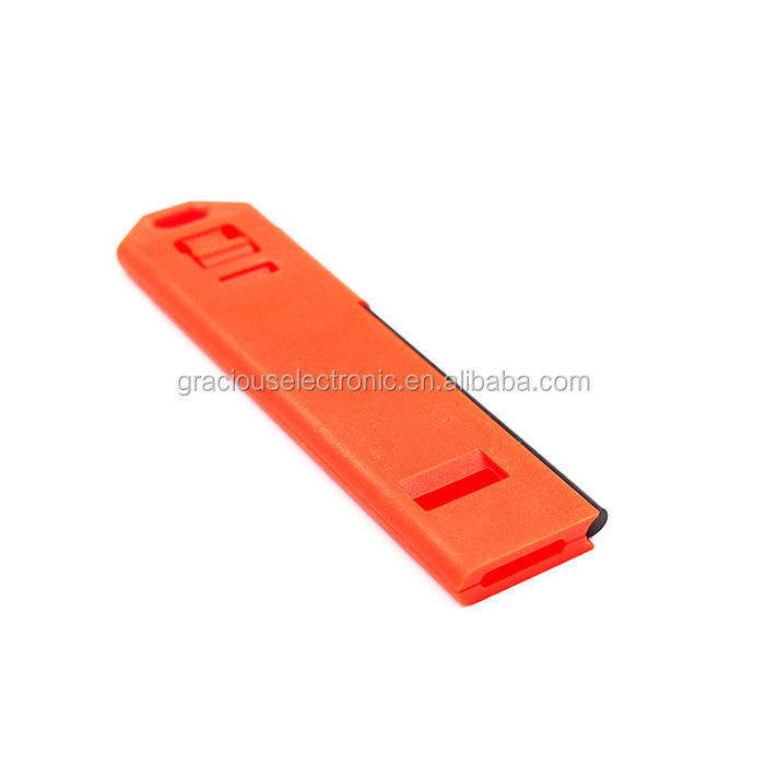survival firestarter whistle with mini scraper for backpacks waterproof trekking