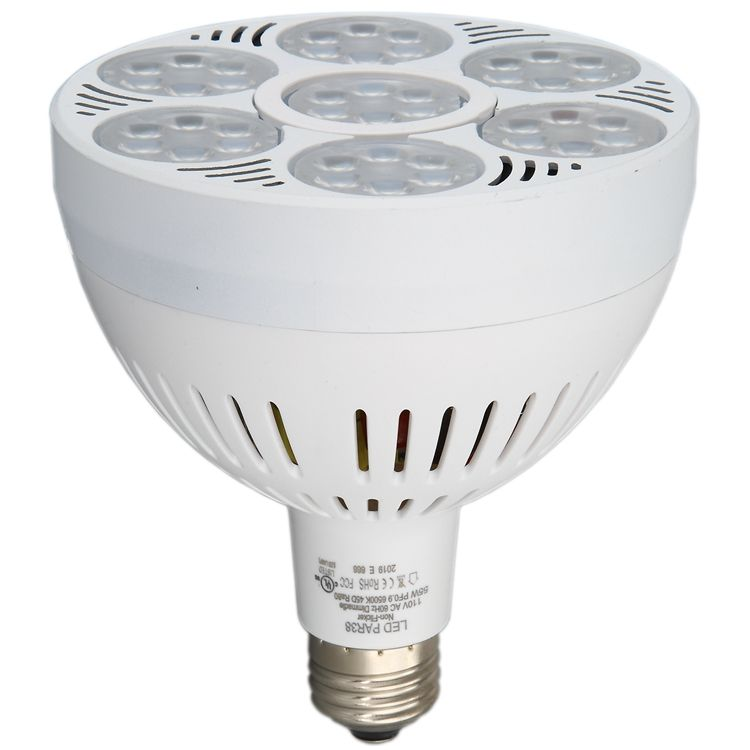 Hottest 5200lm 50W 60W PAR38 lamp replace 500W T4 Halogen light bulb par20 /par30/par38 leds bulb