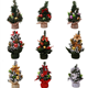 20cm Mini Artificial Christmas Tree For Home Holiday Party Decorations Christmas Table Ornaments