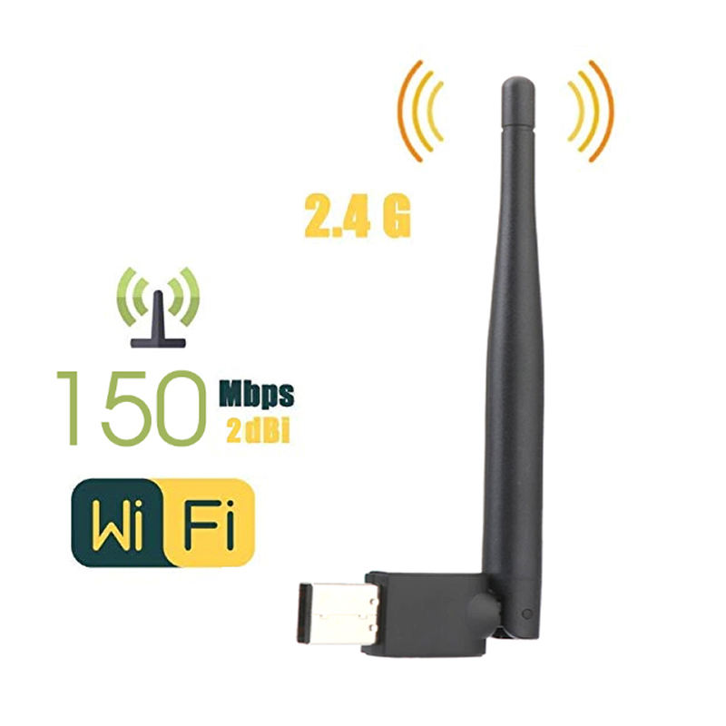 Ralink rt 802,11-antena usb wifi, dongle wifi para decodificador potente, 5370g/n/b