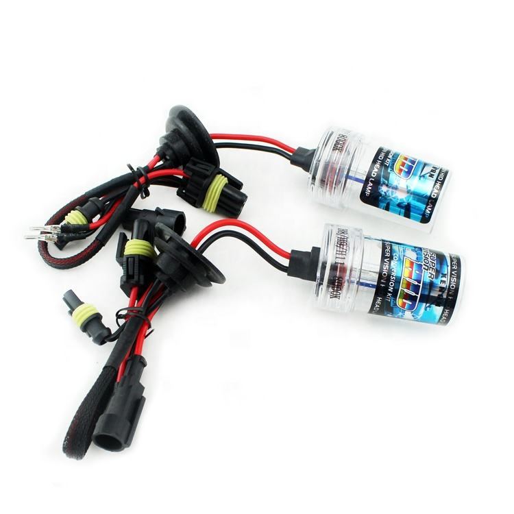 Hot Sale hid xenon bulb h1 H3 H4 H7 H8 H10 H11 9005 HB3 bulb 12v 35w hid xenon light hid headlamp for car or motorcycle