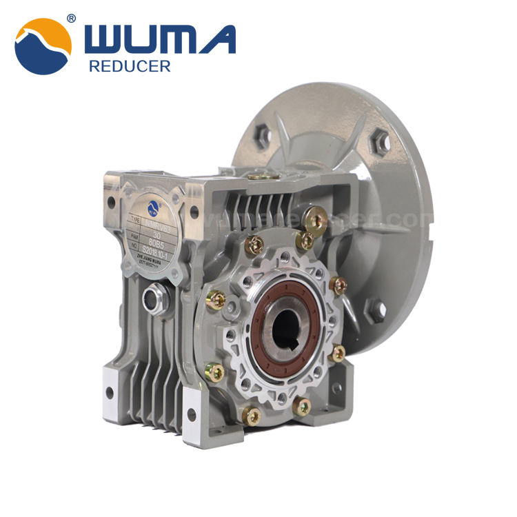 4~2320Nm aluminum alloy Worm speed gear box reducer