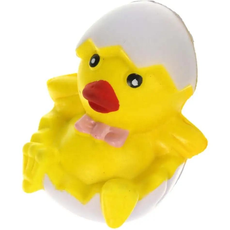 Gift PU Foam Chick in Egg Stress Reliever Toy Ball