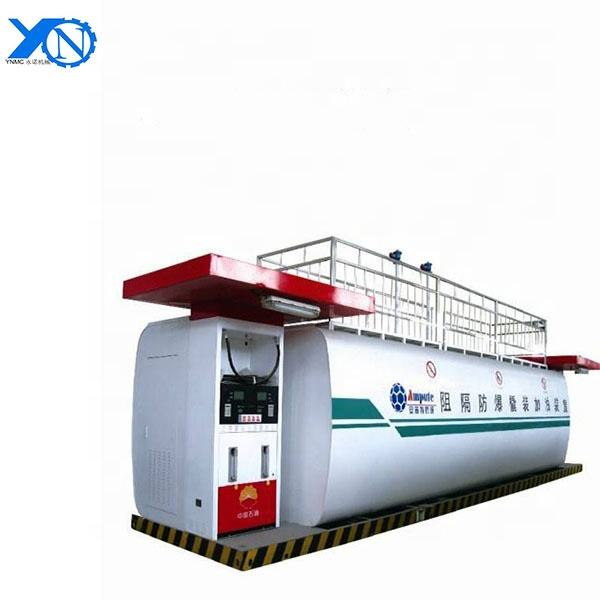 20ft and 40ft fuel tank container mobile gas petrol filling station