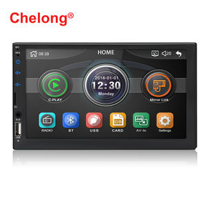 2020 Auto universal user manual car mp5 player bluetooth 2din car radio double din stereo