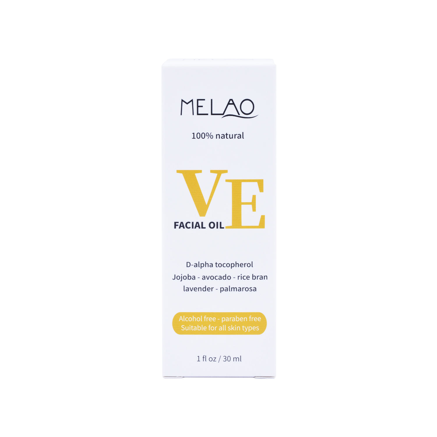 melao skin care vitamin E facial oil vitamin e facial oil