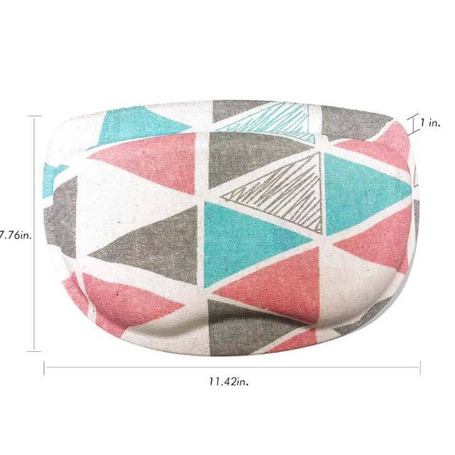 printed bathtub silicone bath pillow