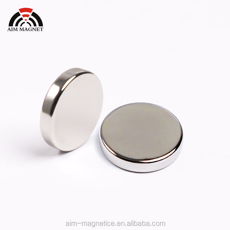Super Strong N52 Neodymium Magnet Nickel-coating Disc Neodymium Magnet Manufacturer