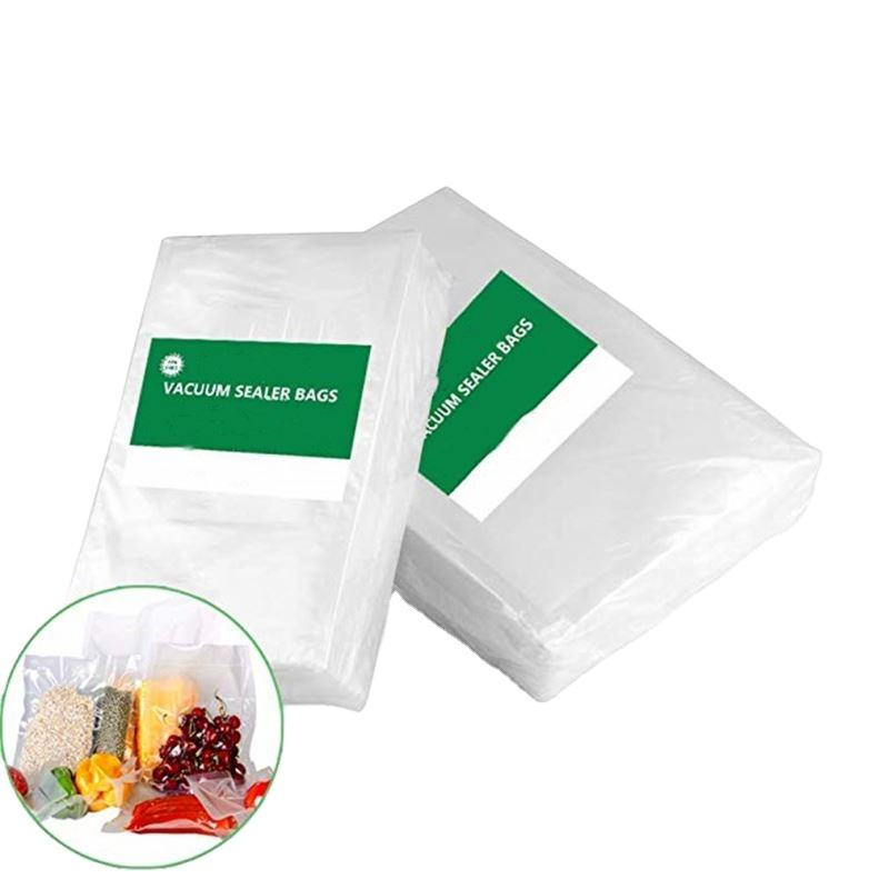 Heat Seal Nylon Small Sac Sous Vide Coffee Compression Shrink Industrial Freezer PA PE 3 side seal Storage Vacuum Seal Bags