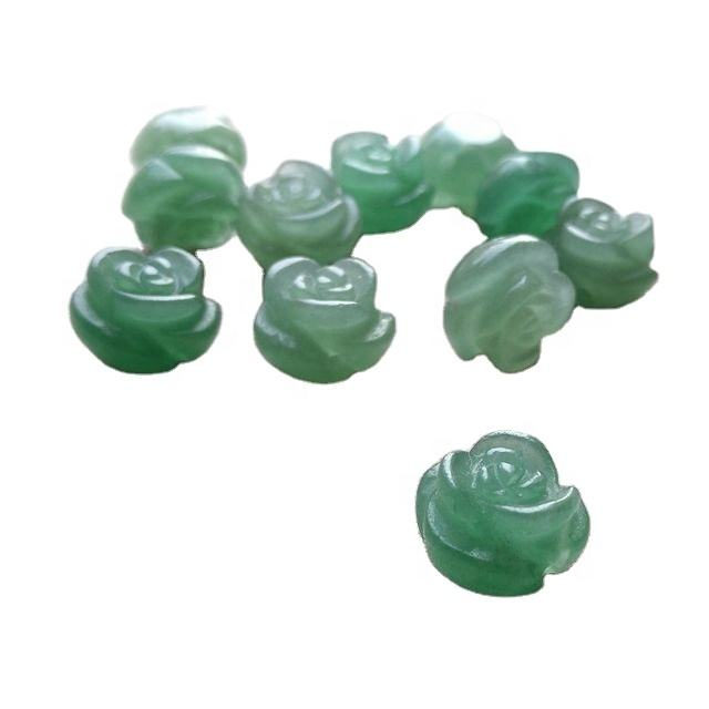 Natural blue jade rose accessories wholesale