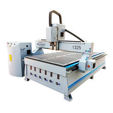 jinan cheap cnc router 1325 3 axis 3d wood carving mdf cutting machine for sale