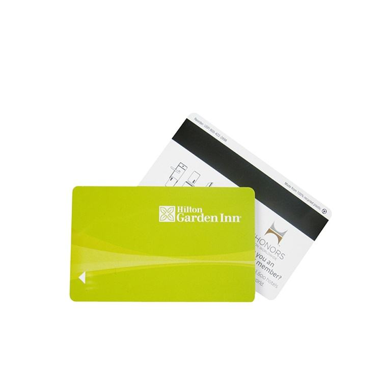 Plastic Magnetic Stripe Vip Cards With Chip