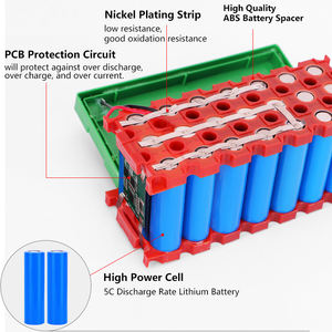 Factory price 12V 18Ah lithium solar system storage Lithium battery pack