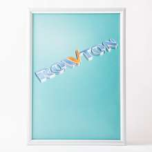 Free sample B0 aluminum alloy poster frame 25mm advertising snap frame