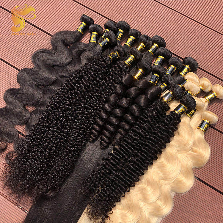 Aosun Hair ขายส่ง 8A Grade Unproeded Human Hair Virgin Hair