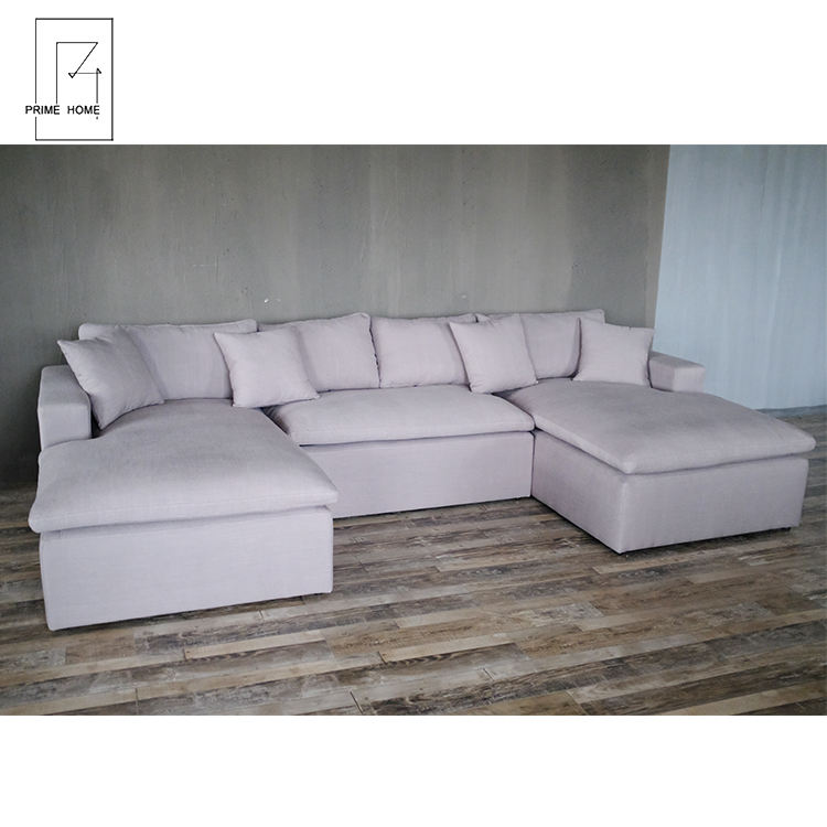 Luxury White Sectional Sofa Modern Set Living Room Furniture Sofa Luxury