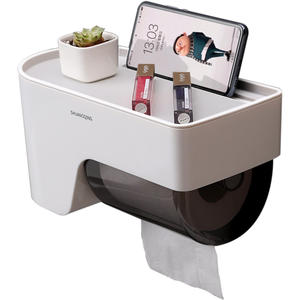 Bathroom storage holder toilet paper holder toilet roll holder