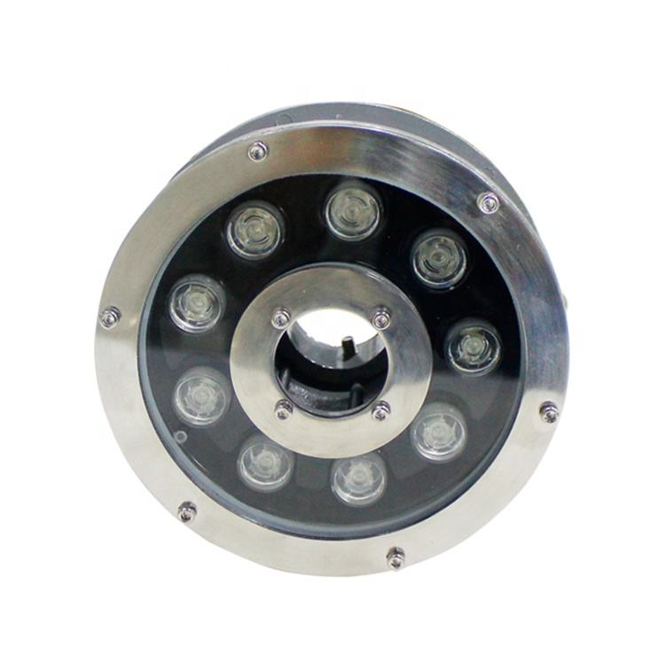 Stainless Steel Waterproof IP68 Underwater Light For Fountains
