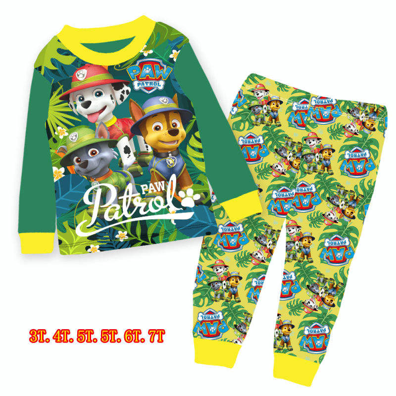 Crazy sale 2020 fashion cartoon boy sleepwear popular design printed kids pyjamas