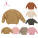 Girls Sweater Kids Sweaters New Design Girl Sweater Autumn New Basic Fashion Baby Pullover Toddler Girls Sweater Kids Cute Knitted Sweaters