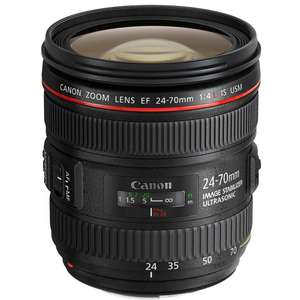 Canon EF 24-70 Mm F4L IS USM Lensa (Kotak Putih)