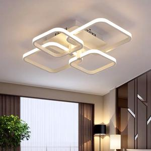 New Contemporary Popular Design Acrylic Ring White Modern Ceiling pendant Lamp Price Decoration Led Ceiling Panel Light For Home
