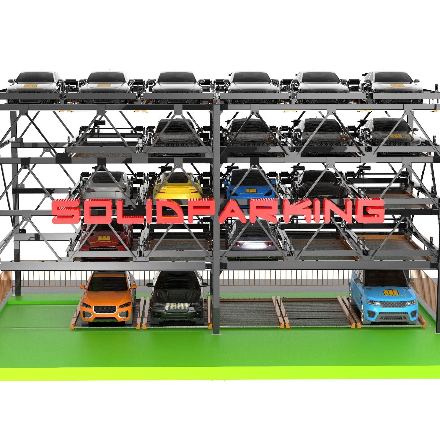 Puzzle SUV cars automated car parking system