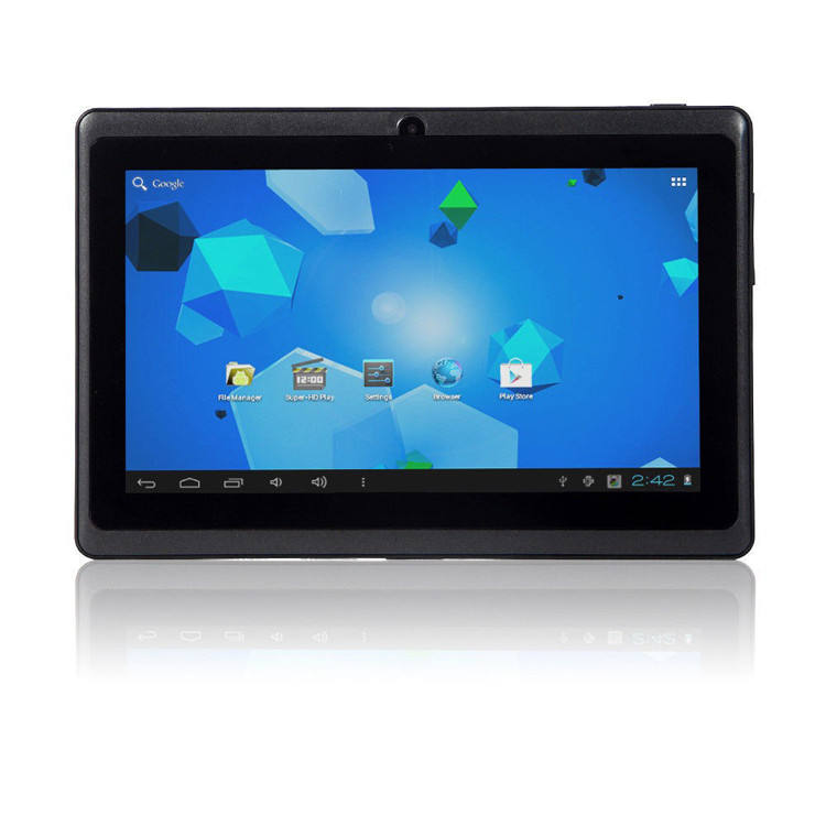 Shenzhen OEM barato tablet polegadas quad core android A50 7 super pad inteligente q88 tablet pc