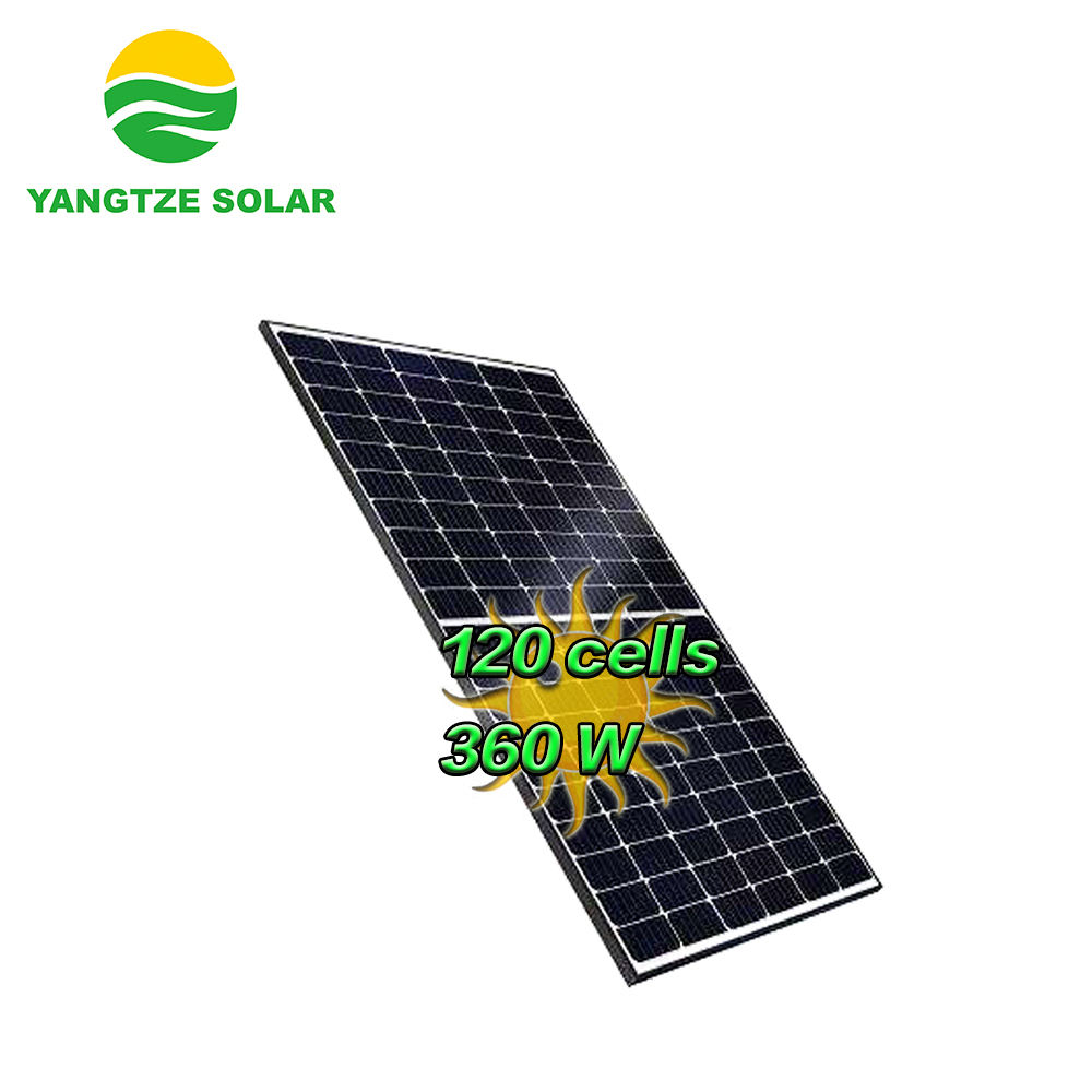 China New Product Yangtze 120cells Half Cell Solar Panel 350W 360w solar panel solar panels ready to ship