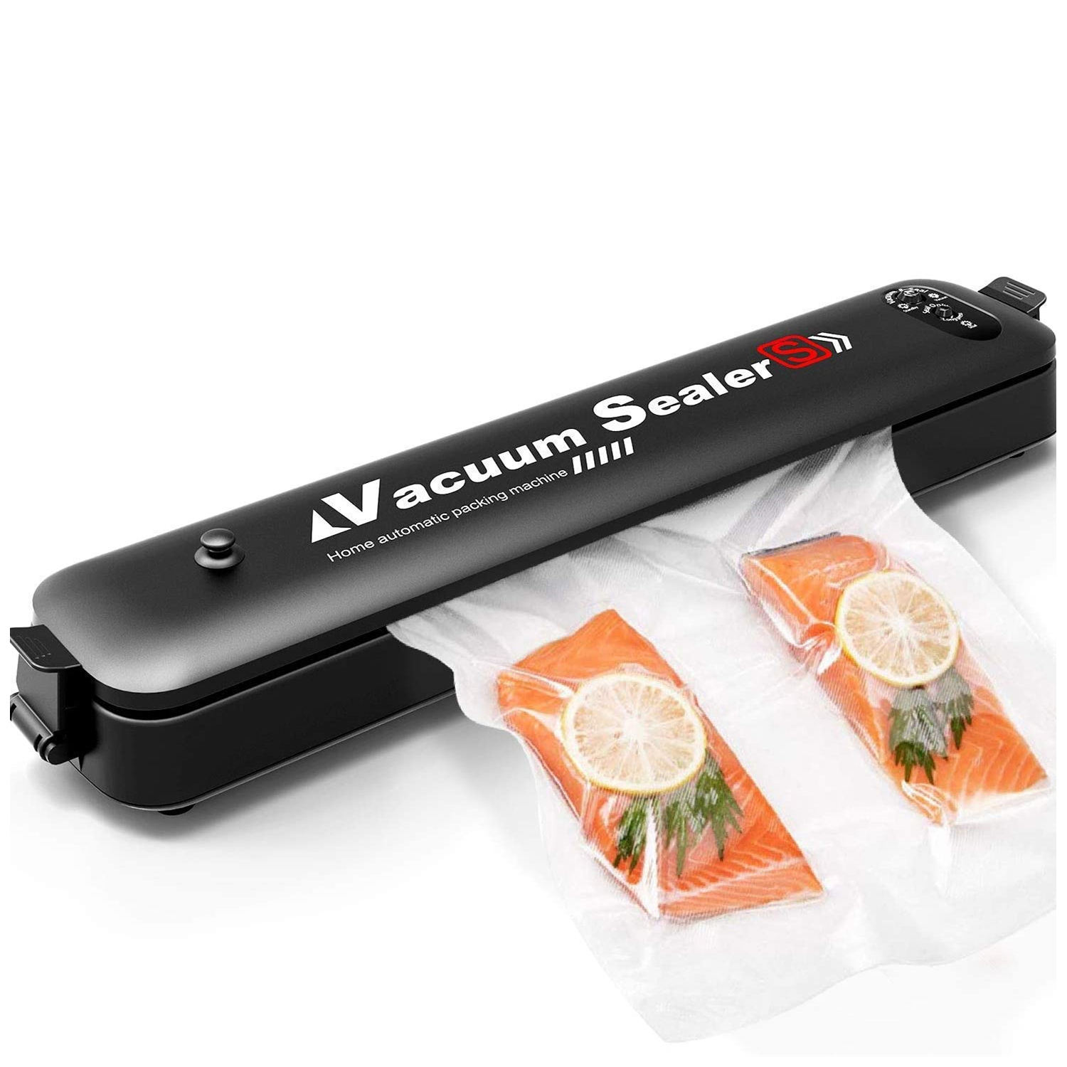 Vacuum Sealer Automatic Vacuum Sealing Machine Dried and Wet Fresh Food Vacuum Sealer for Camping and Home Use