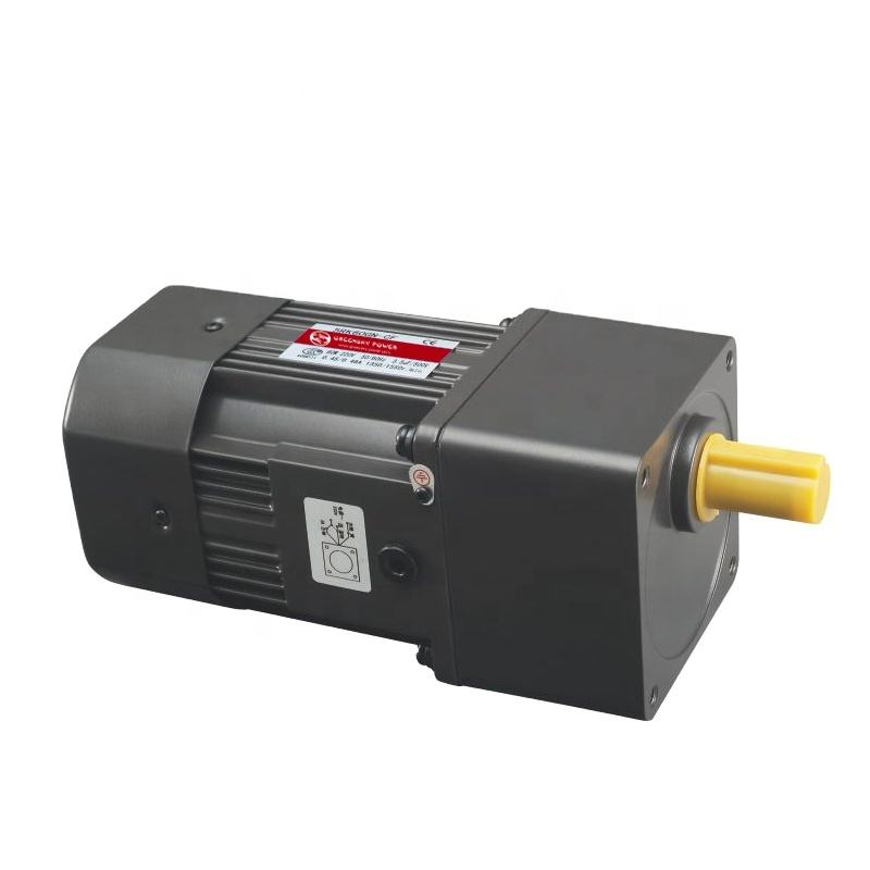 220v 230v 1 Phase Small AC Induction Gear Reduction Gearbox Motor Electric Engine